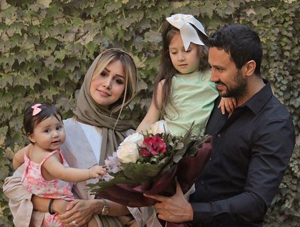 (عکس) ورود سپیده بزمی پور همسر شاهرخ استخری به عرصه مدلینگ